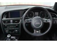 2015 Audi A5 CABRIOLET 1.8 TFSi S Line Special Edition Plus Manual Convertible P