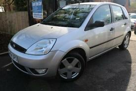 2004 Ford Fiesta 1.4i 16v Ghia Silver 5 Door Long MOT Great First Car