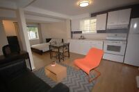 Furnished bachelor apartment for rent