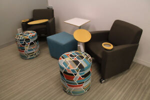 OFFICE SEATING & LOUNGE CHAIRS - EVERYTHING MUST BE SOLD!!!