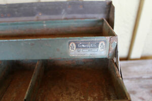 Old Kennedy Kits Style No. 1017 Metal Tool Box London Ontario image 4
