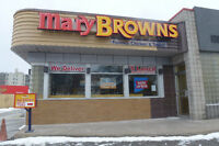 Just Listed!  Join Fast Growing Mary Brown's Famous Chicken