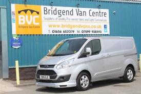 2015 FORD TRANSIT CUSTOM 270 125 BHP LIMITED L1 SWB DIESEL 6 SPEED MANUAL VAN, 1