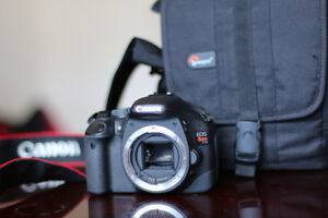 Canon EOS Rebel T2i + Lowerpro Carry Bag
