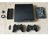 PS3 Comes With 20 Games, 2 Controllers PS3 Vertical Stand, Dual Charging Dock and PS3 Official Mic.