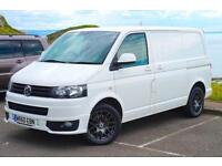 2010 60 VW TRANSPORTER T5 102 SWB TAILGATE AIR-CON £ 140 TAX SPORTLINE KIT T5.1