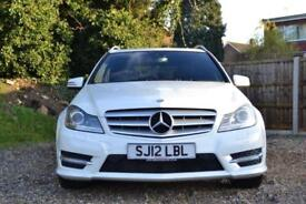 2012 MERCEDES C-CLASS C220 CDI BLUEEFFICIENCY SPORT AUTO ESTATE DIESEL
