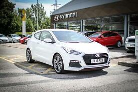2016 16 HYUNDAI I30 1.6T GDI Turbo 3dr in Polar White