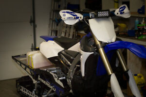 2019 Timbersled 137 LE on 2016 YZ450FX