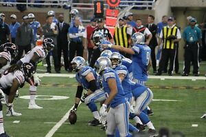 LIONS OCT 23RD - LOWERS ROW 14 AT THE 30 YARD LINE - BEST OFFER