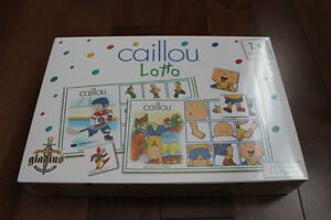 Caillou Loto unwrapped