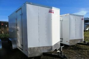 2017 7X14+12 Enclosed/Cargo Trailer Canadian Hauler - ARROW