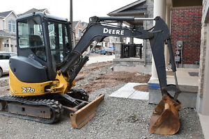2011 JOHN DEERE EXCAVATOR 27D- Great Condition