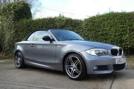 2013 BMW 1 SERIES 118D SPORT PLUS EDITION CONVERTIBLE CONVERTIBLE DIESEL
