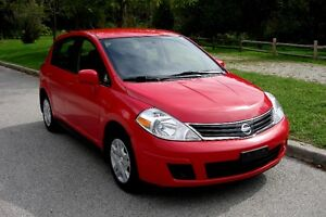 2012 Nissan Versa S, 1.8L Hatchback, Off-Lease, No Accident