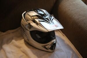 For Sale:  Bell motorcycle helmet (youth) and guard armour