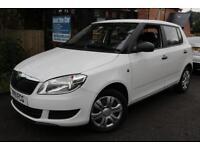 2011 Skoda Fabia 1.2 S White 5 Door FSH Long MOT Finance Available