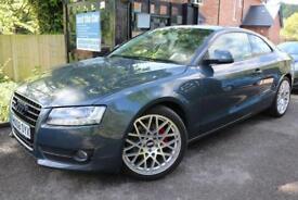 2008 Audi A5 3.0 TDI Quattro Grey Coupe FSH Long MOT Finance Available