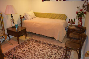 BEDROOM SUITE AVAILABLE FOR A YOUNG PROFESSIONAL