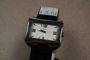 Men's Birks Formal Quartz Movement Stainless Steel Watch (#197)