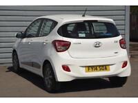 2014 Hyundai i10 1.2 Premium Petrol white Manual