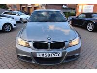 2008 58 BMW 3 SERIES 2.0 320D ES 4D 175 BHP DIESEL
