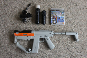 PlayStation Move Bundle Including Sharpshooter and Game