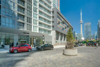 Furnished One Bedroom Condo (Spadina & Front)