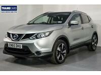 2015 Nissan Qashqai 1.2 115ps N-Tec+ With Sat Nav, Glass Roof, Digital Radio And