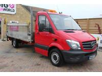 2013 MERCEDES SPRINTER 316 CDI LWB SINGLE CAB 14FT ALLOY DROPSIDE WITH TAIL LIFT