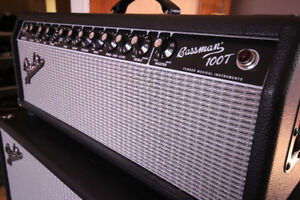 Fender Bassman 100T head - Full lampe