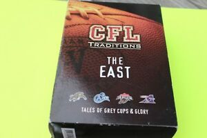 "FOOTBALL  CFL TRADITIONS   ""THE EAST"""