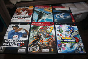 PLAY STATION 2 WITH GAMES