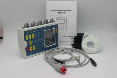 Ms400 Touch Multi-parameters Patient Simulatorecg Simulatorresp Temp Ibp New