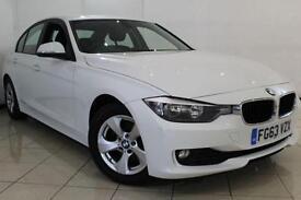 2013 63 BMW 3 SERIES 2.0 320D EFFICIENTDYNAMICS 4DR 161 BHP DIESEL