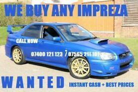 Subaru Impreza WRX STI RB5 FORESTER. TYPE R..BEST PRICES PAID CALL NOW!!!