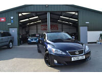 2006 Lexus IS 220d 2.2TD ( Multimedia ) Sport MANUAL DIESEL SAT NAV
