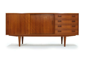 Scandinavian MCM Teak Sideboard Made in Denmark