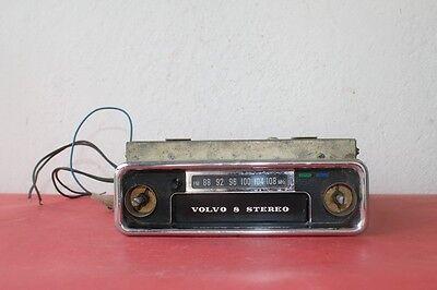 VINTAGE VOLVO STEREO 8 JAPAN CAR RADIO MOD. ATP-410 MITSUBISHI ELECTRIC CORP.