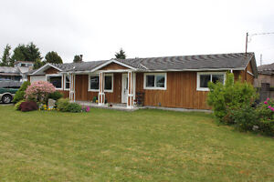 Beautiful Rancher in Ocean Side Town of Port McNeill, BC