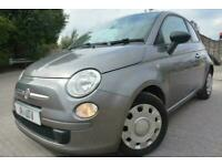 2010 10 FIAT 500 POP 1.25*LOW MILEAGE*2 OWNERS*GREAT CONDITION*£30 TAX*