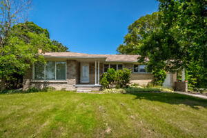 A solid brick bungalow situated on a massive lot!