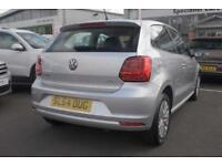 2014 Volkswagen Polo 1.0 SE (60 PS) BMT Petrol silver Manual