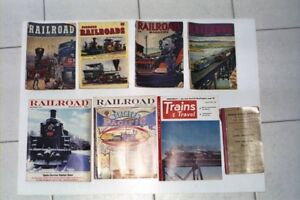 OLD  Railway Magazines two boxes