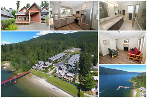Incredible Waterfront Cottage on Mara Lake, Sicamous BC