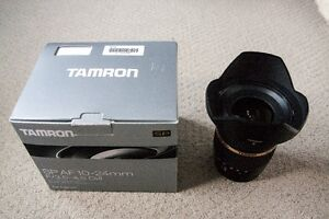 Tamron SP AF 10-24mm F3.5-4.5Di II  Ultra Wide Angle for Canon