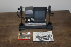 Mansfield  8mm  Editor & Argus 8mm Showmaster Projector