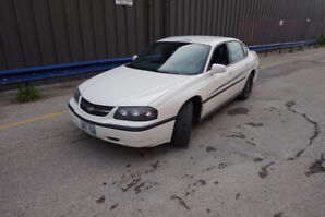 2005 Chevy Impala, RCMP (Police Package)