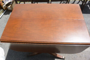 Solid Walnut dinning room table & chairs