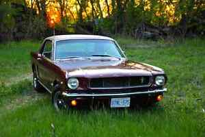 1965 mustang 289 4 speed original paint
